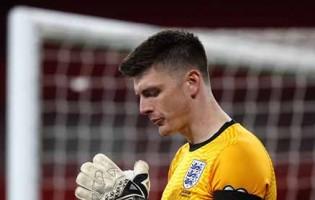 Nick Pope ainda não sofreu pela Inglaterra e é o primeiro a chegar aos seis jogos como imbatível