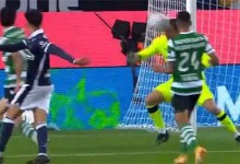 Antonio Adán faz defesa espetacular com a cabeça – Sporting CP 1-1 FC Famalicão