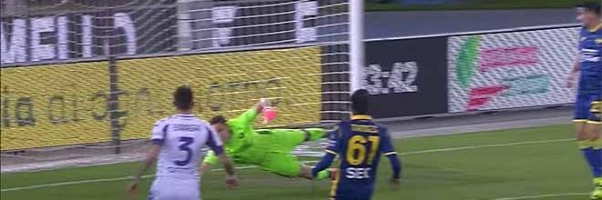 Marco Silvestri e Bartlomiej Dragowski aparecem em várias situações – Hellas Verona 1-2 Fiorentina