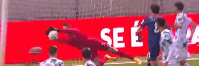 Mateus Pasinato decisivo a destacar-se em quatro intervenções – Moreirense FC 1-1 FC Porto