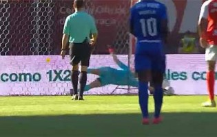 Stanislav Kritciuk dá nas vistas em dois lances – SC Braga 1-1 Belenenses SAD