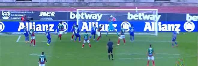 Stanislav Kritciuk responde a cabeceamento a curta distância – Belenenses SAD 2-0 CS Marítimo