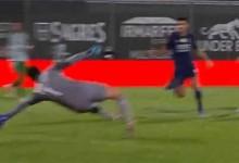 Agustín Marchesín tranca a baliza em duas defesas após começar jogada de golo – Rio Ave FC 0-3 FC Porto
