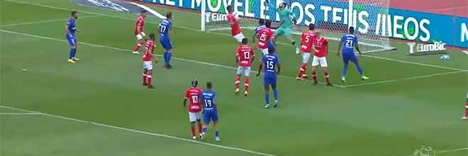 Marco Rocha protagoniza defesa espetacular – Belenenses SAD 0-2 CD Santa Clara