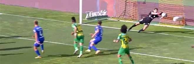 Stanislav Kriticuk impede dois golos em dois minutos – CD Tondela 1-3 Belenenses SAD