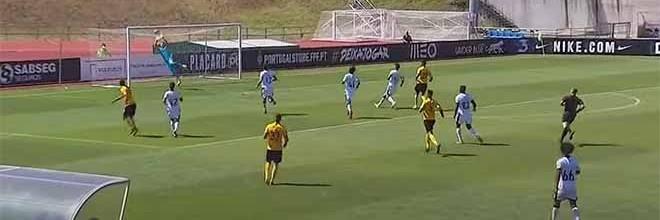 Antal Bencze e Serginho Silva defendem várias vezes – Vitória SC B 2-0 Lusitânia Lourosa FC