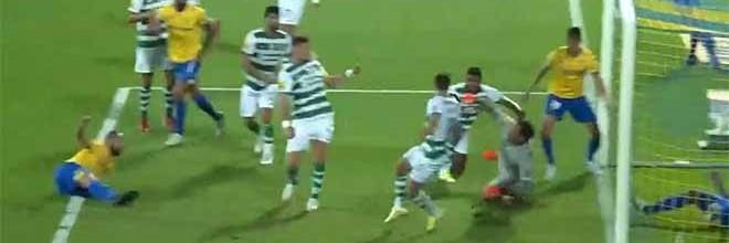 Antonio Adán consegue fechar a baliza em dupla defesa – Estoril 0-1 Sporting CP