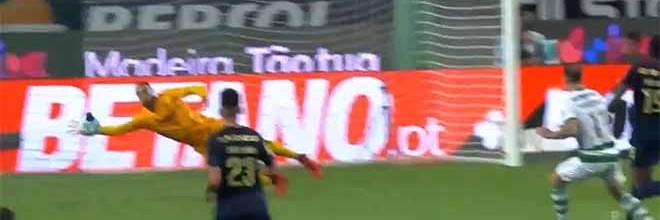 Diogo Costa faz defesa de nível entre outras – Sporting CP 1-1 FC Porto