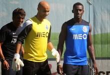 Sinan Bolat faz o 1º treino pelo FC Porto