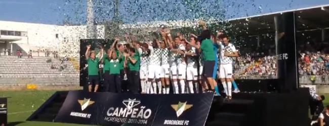 Marafona, Ricardo Silva, Alexandre Ferreira e Carlos Fernandes vencem a Liga2 com o Moreirense