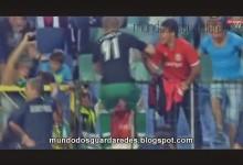 Cosmin Moti, defesa, vai para a baliza, marca um e defende dois penaltis para colocar o Ludogorets na Champions League