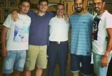 Casillas, Moyá, Codina e Caba jantam juntos em Madrid