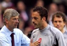 Almunia: Wenger manda mensagem ao ex-guarda-redes