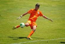 Filipe Dinis, dos juvenis, treinou nos seniores do Vitória