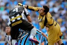Grohe, sem sofrer há 815 minutos, na história do Brasileirão