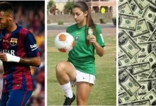 Guarda-Redes Rihannon Conelly rejeitou 10 mil dólares para conhecer Neymar