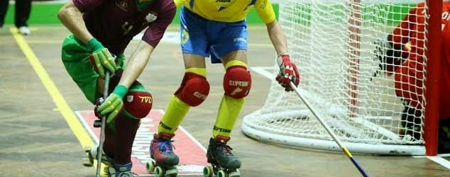 Carlos Terrones destaca-se no Portugal 3-1 Andorra – Europeu 2014 Sub-20 em Hóquei em Patins