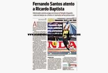 Ricardo Batista observado pela selecção – A Bola