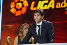 Germán Lux vence prémio Mejor Porteor da Liga Adelante 2013/2014