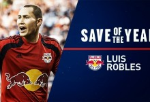 Luis Robles vence prémio MLS Save of the Year 2014
