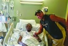 Willy Agbonavbare luta contra cancro