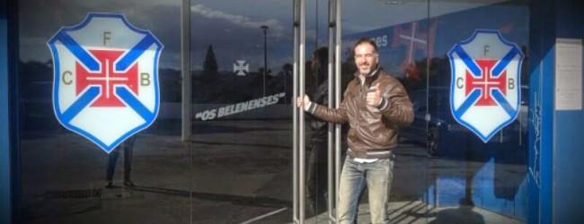 Vasco Évora é o novo treinador de guarda-redes do Belenenses