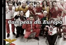 Ana Santos e Maria Celeste Vieira vencem Taça Europeia feminina de Hóquei em Patins pelo Benfica