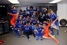 Cech e Courtois vencem Capital One Cup 2014/2015 com o Chelsea