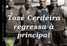 Tozé Cerdeira regressa à equipa principal do Estoril, para o treino dos guarda-redes – Vítor Silvestre sai com Couceiro
