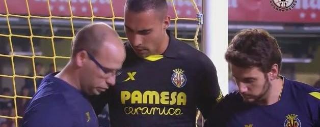 Asenjo faz duas boas intervenções e lesiona-se estridentemente no Villarreal 0-1 Atlético de Madrid