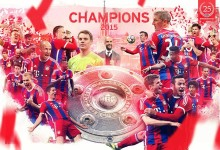 Neuer, Reina e Toni Tapalovic sagram-se campeões da Bundesliga pelo Bayern