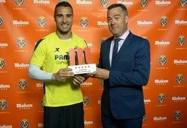 Sergio Asenjo vence prémio Jugador Cinco Estrellas pela terceira vez esta temporada