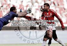 Alireza Haghighi – FC Penafiel e Irão – Balanço da temporada 2014/2015