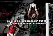 Cristiano Figueiredo – Académica – Balanço da temporada 2014/2015