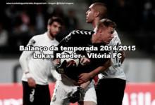 Lukas Raeder – Vitória FC – Balanço da temporada 2014/2015