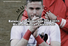 Ricardo Moura – Leixões SC – Balanço da temporada 2014/2015