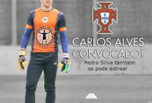 Carlos Alves e Pedro Silva convocados pelos sub-18 de Portugal para Torneio Internacional de Lisboa