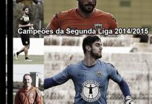 Cláudio Ramos, Rui Nereu, Paulo Cadete campeões da Segunda Liga pelo Tondela – Emanuel Konde e Ricardo Andrade também festejam