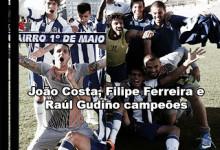 Filipe Ferreira, João Costa e Raúl Gudiño campeões nacionais de sub-19 pelo FC Porto