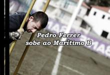 Pedro Ferrer transita para o treino de guarda-redes do Marítimo B
