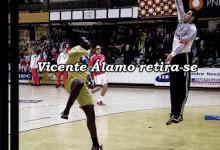 Vicente Álamo deixa as balizas do Andebol
