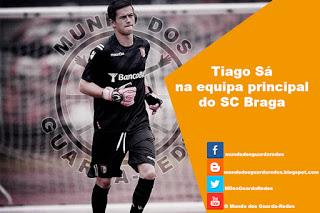 Tiago Sá na equipa principal do SC Braga