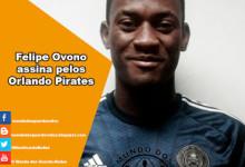 Felipe Ovono assina pelos Orlando Pirates
