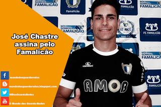 José Chastre assina pelo Famalicão