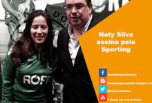 Naty Silva assina pelo Sporting