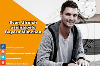 Sven Ulreich assina pelo Bayern