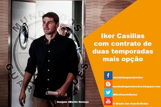 Iker Casillas com contrato de duas temporadas no FC Porto