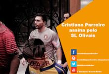 Cristiano Parreiro assina pelo SL Olivais