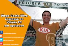 Diego Costa Silva assina pelo Vitória FC