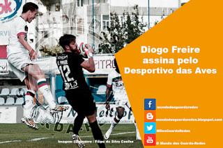Diogo Freire assina pelo CD Aves